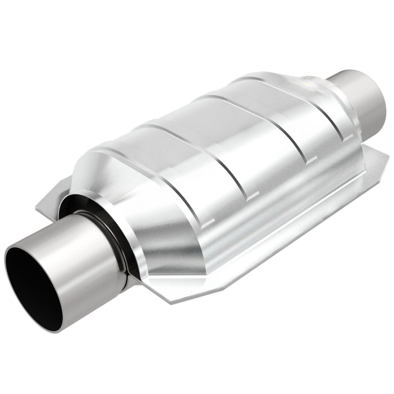 MagnaFlow 94404 2/'/' Inlet//Outlet EPA Compliant Universal Catalytic Converter