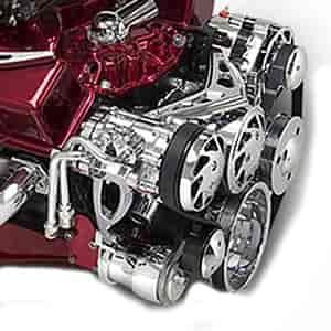 March Performance 20280 - March Small Block Chevy Ultra Drive Serpentine Kit