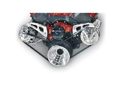 March Performance 23007 - March Big Block Chevy Serpentine Kit for Electric Water Pumps