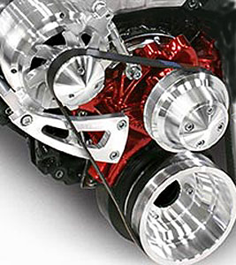 March Performance 23040 - March Big Block Chevy Performance Serpentine Conversion Pulley Kits