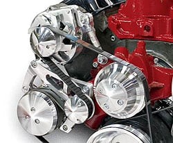 March Performance 23082 - March Big Block Chevy Performance Serpentine Conversion Pulley Kits