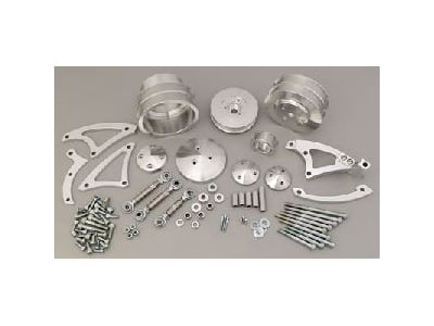 March Performance 40550 - March Chrysler 383-440 Deluxe Serpentine Pulley Kits