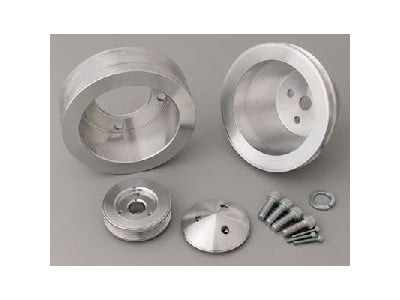 March Performance 6140 - March Chevy V-Belt Pulley Sets