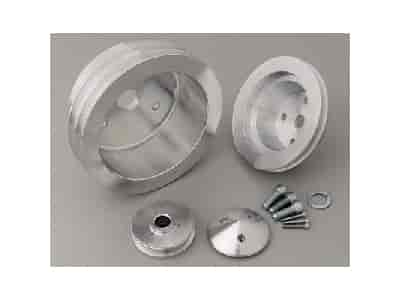 March Performance 6170 - March Chevy V-Belt Pulley Sets