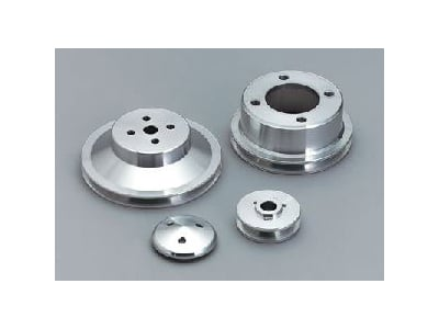 March Performance 7040 - March Chevy V-Belt Pulley Sets