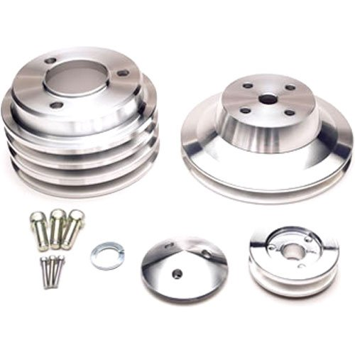 March Performance 7050 - March Chevy V-Belt Pulley Sets