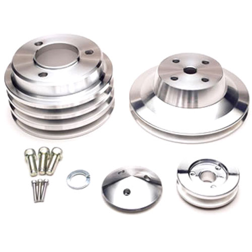 March Performance 7150 - March Chevy V-Belt Pulley Sets