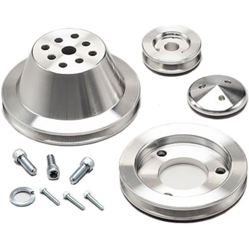 March Performance 7510 - March Chevy V-Belt Pulley Sets