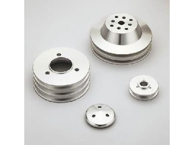 March Performance 7550 - March Chevy V-Belt Pulley Sets