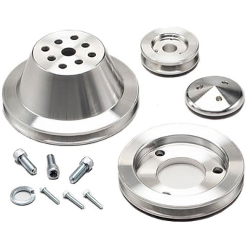 March Performance 7710 - March Chevy V-Belt Pulley Sets