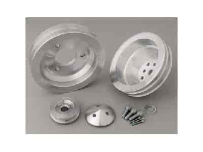March Performance 7730 - March Chevy V-Belt Pulley Sets