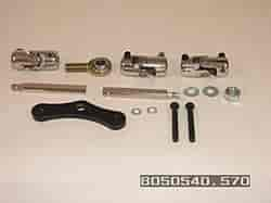 Unisteer 8050570 - Unisteer 1967-69 Camaro Steering Shafts and Components