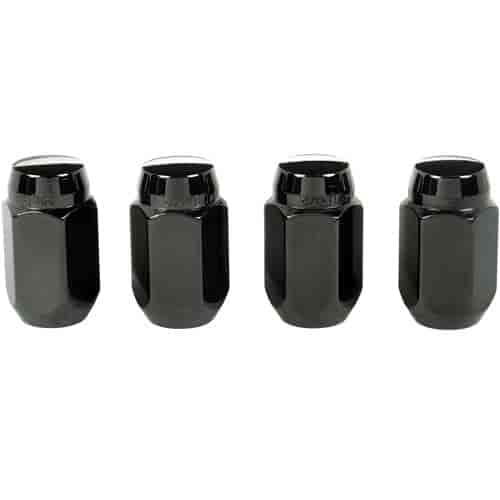 mcgard 64031 black acorn conical seat lug nuts m12 x 1 5 thread size ebay. Black Bedroom Furniture Sets. Home Design Ideas