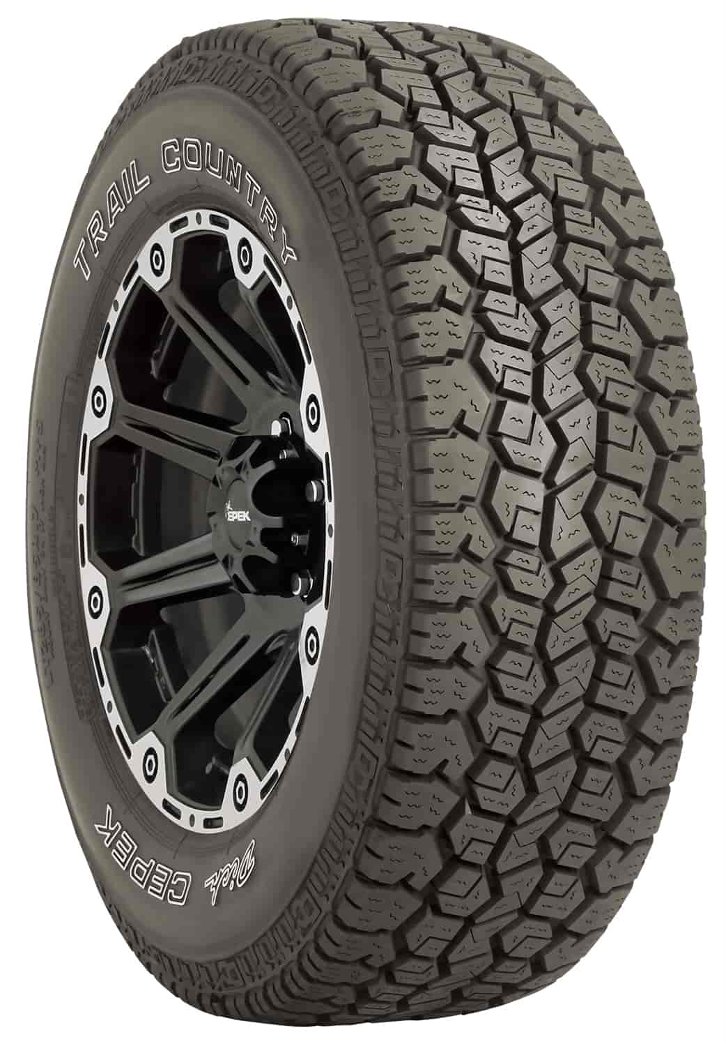 265 70r17 All Terrain Tires >> Mickey Thompson 70731 Trail Country All Terrain Tire 265 70r17 Jegs