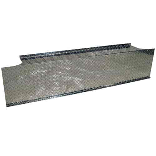 MBRP BB0004 - MBRP Checker Plate Covers for Smoker T-Pipe