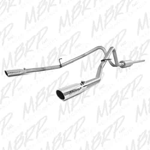 mbrp s5202al  installer series exhaust system 2004