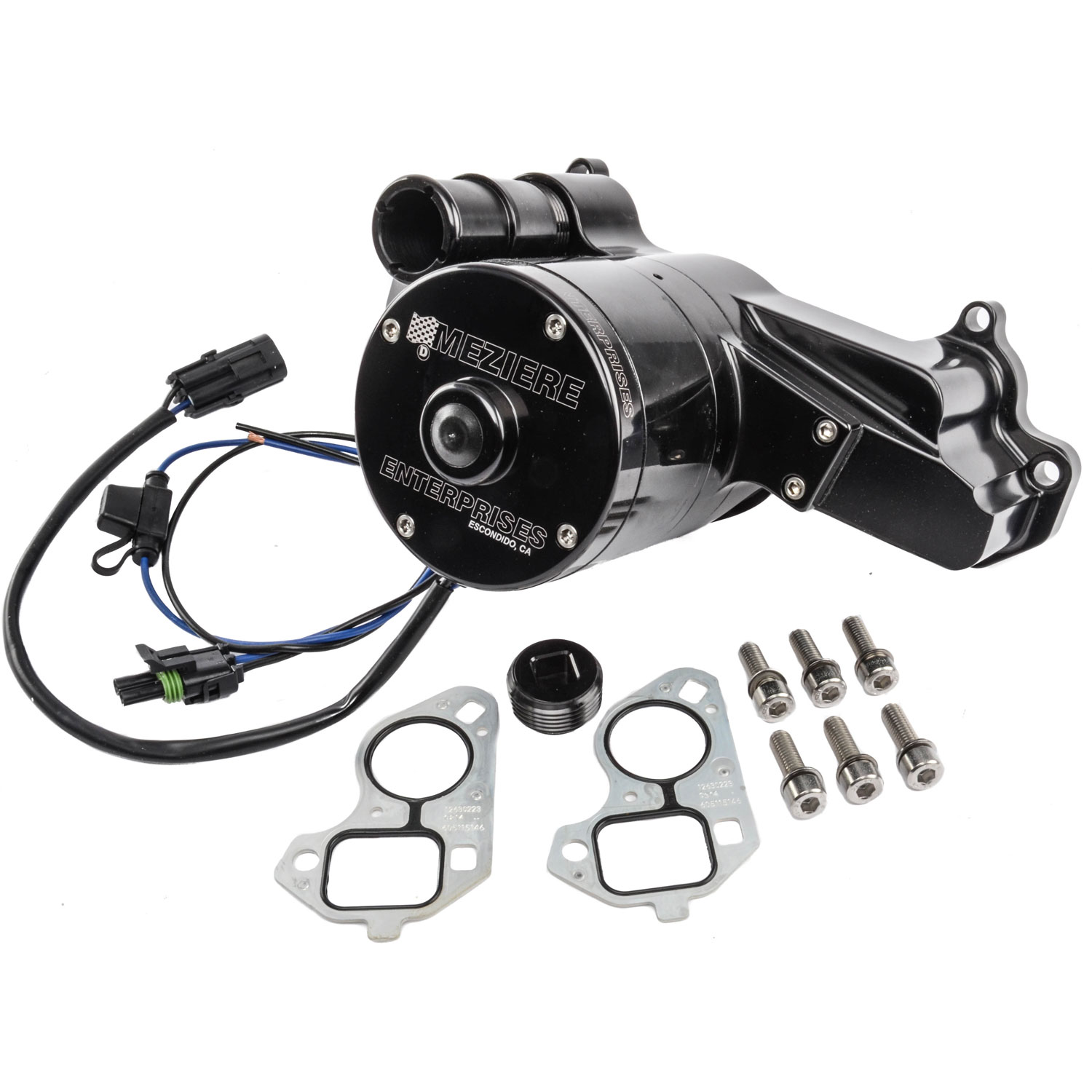 Meziere Wp119shd 100 Series Electric Water Pump Chevy Ls
