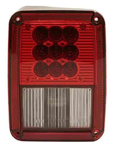 Bully NV-002L - Bully L.E.D. Jeep Tail Lights