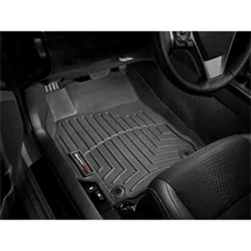Black WeatherTech Front FloorLiner for Select Jeep Liberty Models 443881