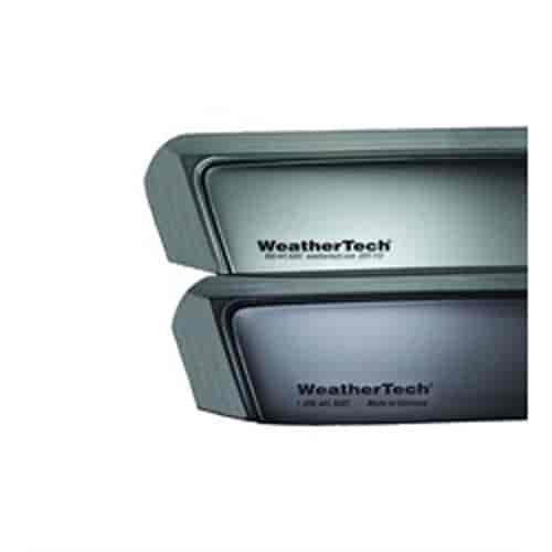 WeatherTech 70020 - WeatherTech In-Channel Light Tint Side Window Deflectors