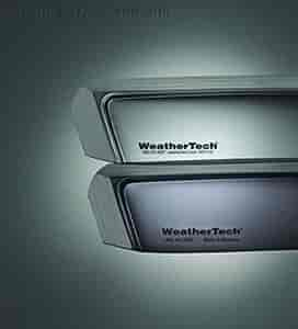 WeatherTech 72444 - WeatherTech In-Channel Light Tint Side Window Deflectors