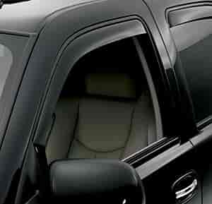 WeatherTech 80426 - WeatherTech In-Channel Dark Tint Side Window Deflectors