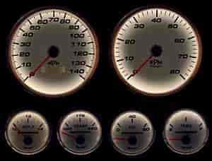 NVU: New Vintage 01659-03 - New Vintage Performance Series Gauges