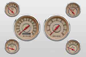 NVU: New Vintage 37604-02 - New Vintage Woodward Series Gauges