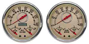 NVU: New Vintage 37254-02 - New Vintage Woodward Series Gauges