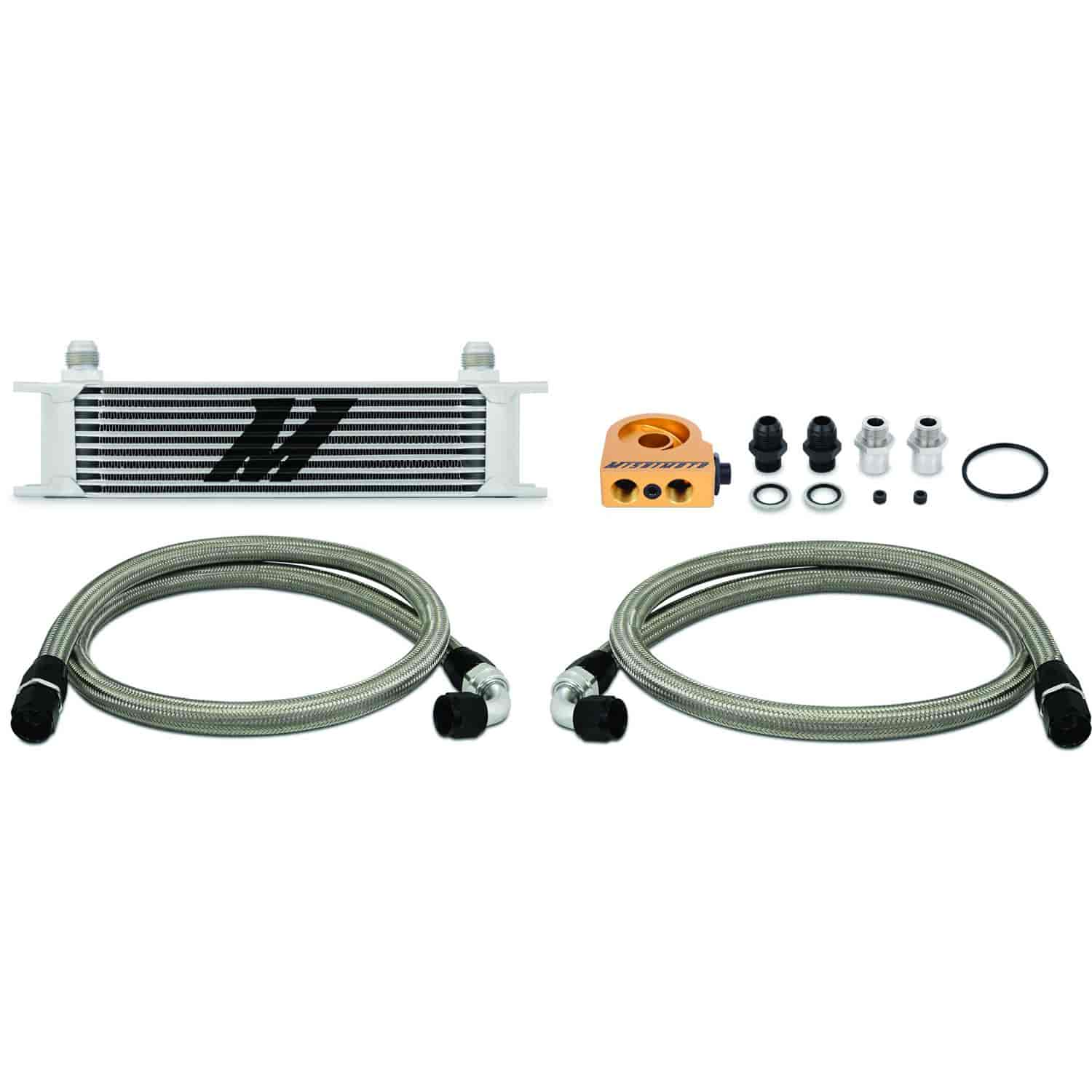 Derale 51006 10 Row Core Stacked Plate Cooler Kit