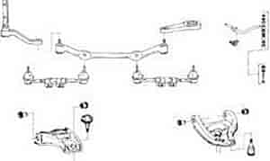 OER 18060 - OER Leaf Spring Installation Kits & Components