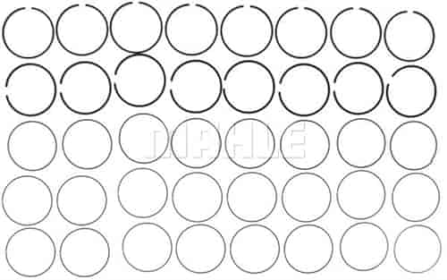 Mahle Original 42066cp Premium Plasma Moly Piston Ring Set 2009