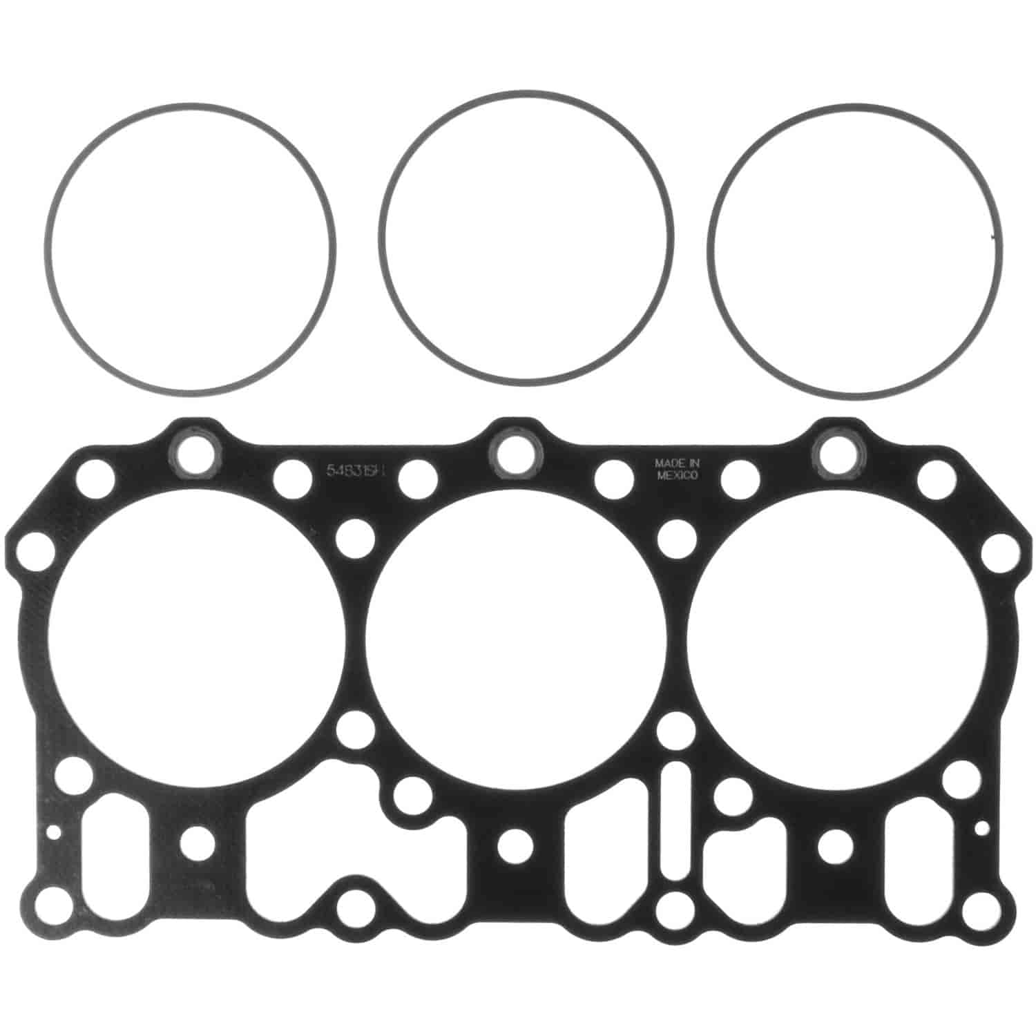 Clevite MAHLE Cylinder Head Gasket Mack E7 Engines Late Model with Flat  Fire Rings