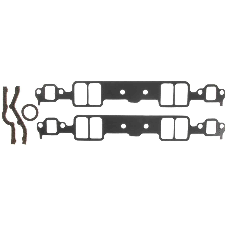 clevite 95070sg  performance intake manifold gasket set small block chevy v8 262  267  283  302  305