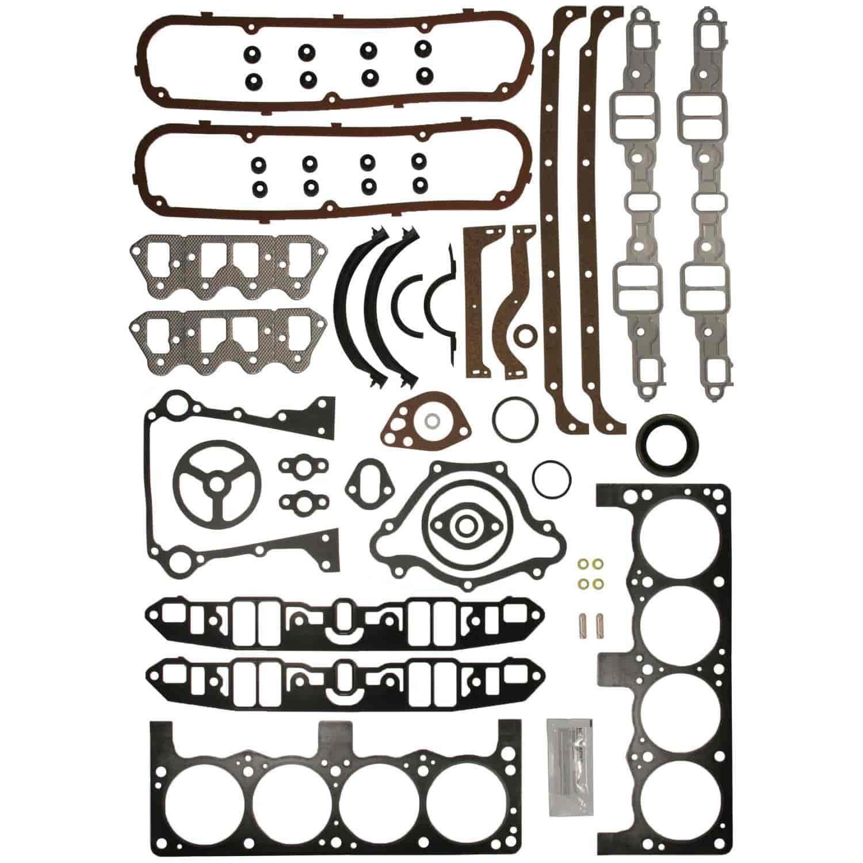 Clevite MAHLE 953346: Engine Kit Gasket Set 1968-1991 Small Block ...