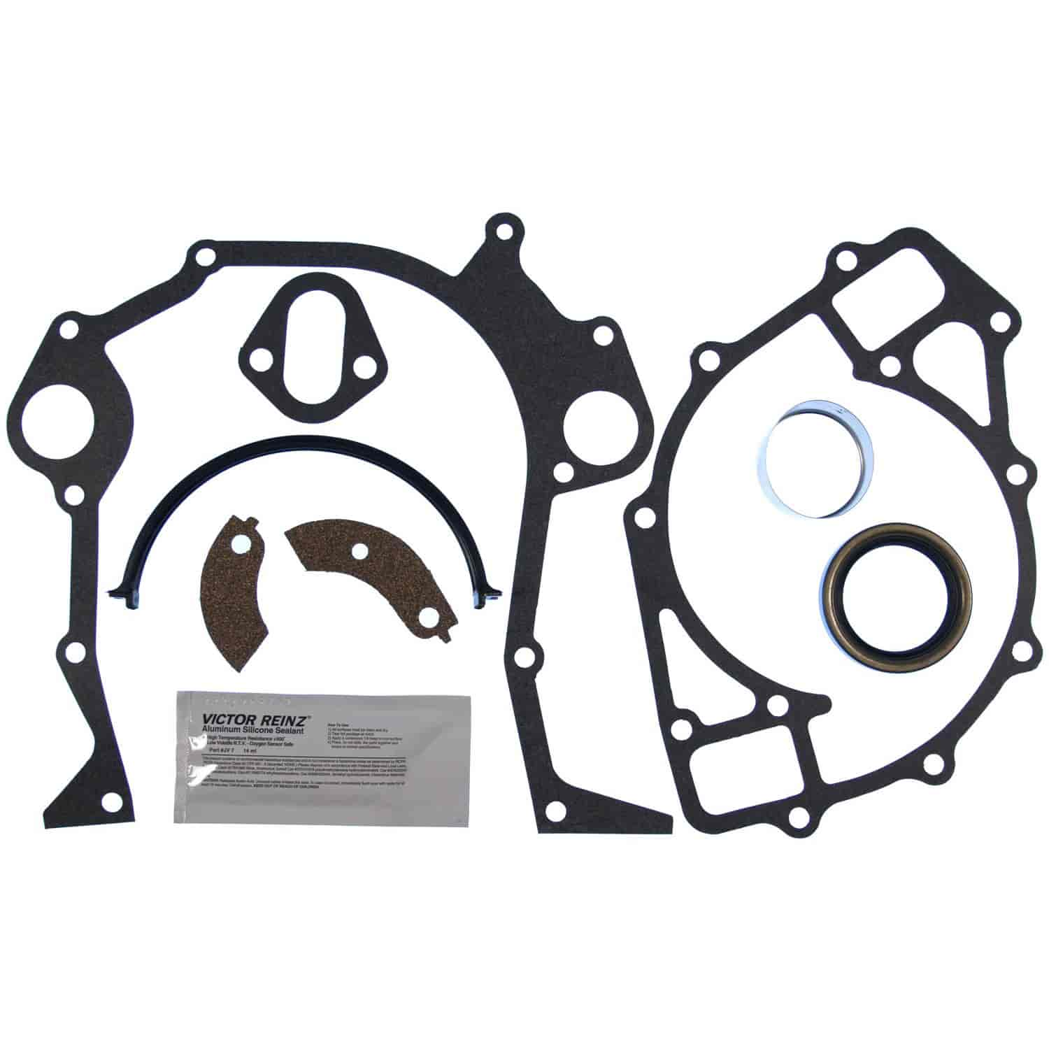 Clevite Mahle Jv932 Timing Cover Gasket Set 1968 1997 Big Block A 460 Ford Engine