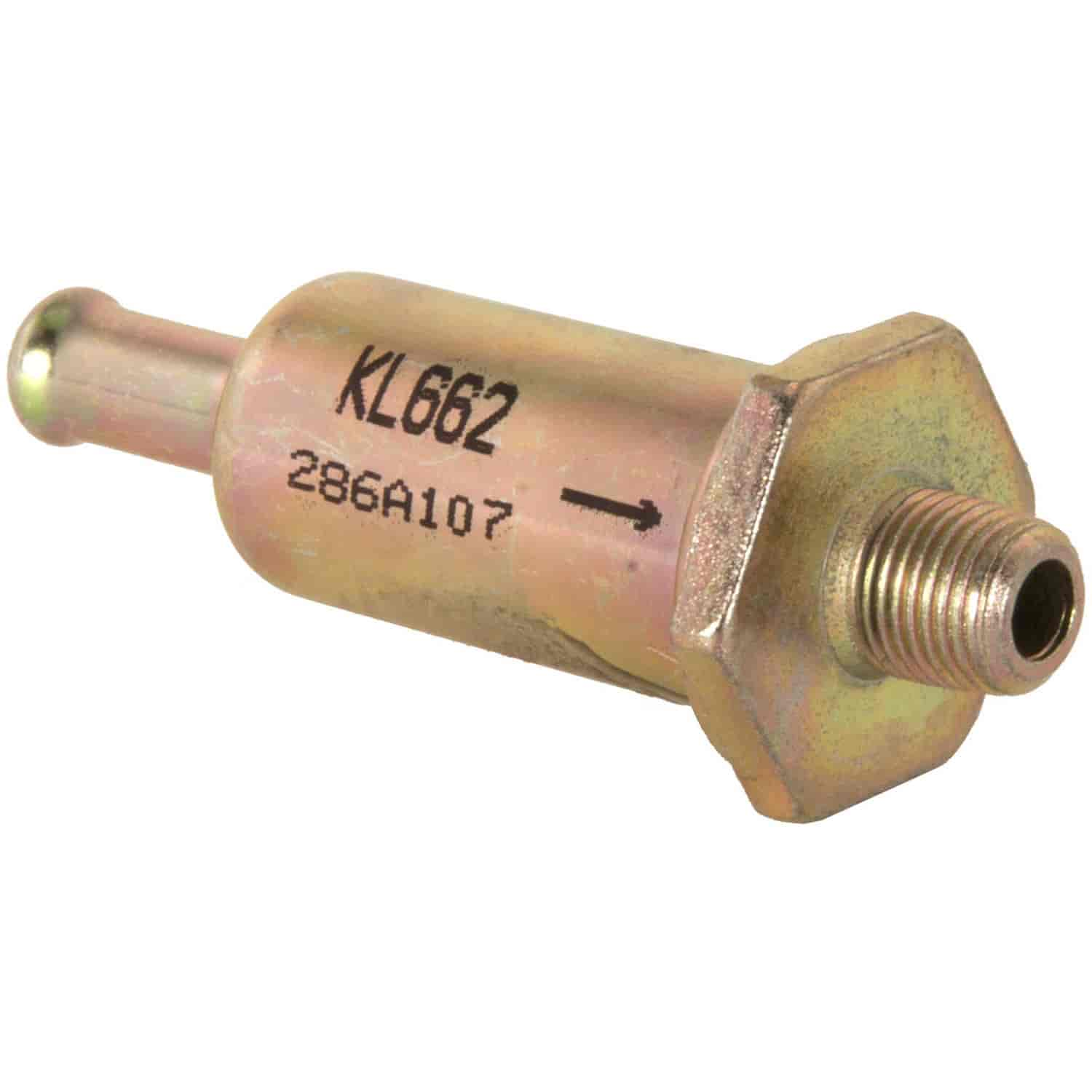 Clevite Mahle Kl662 Fuel Filter Ford Family Of Cars 68 82 Jegs