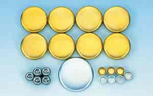 Milodon 34031 - Milodon Brass Freeze Plug Kits