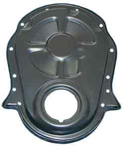Trans Dapt 8637 - Trans Dapt Powder Coated Timing Chain Covers