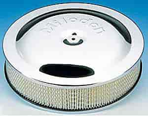 Milodon 85800 - Milodon Chrome Air Cleaners