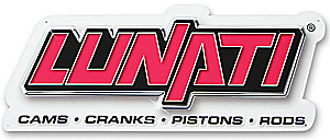 Lunati 99014 - Lunati Metal Garage Signs