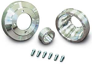 March Performance 10510 - March Chrysler Serpentine Belt Pulley Sets