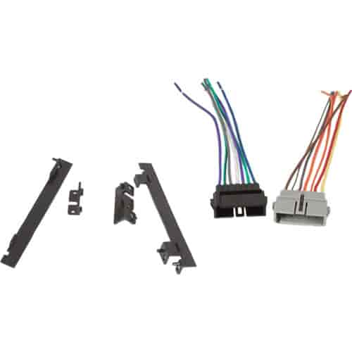 700 270 670 retrosound 270 670 newport installation kit with 1974 2000 mopar  at webbmarketing.co