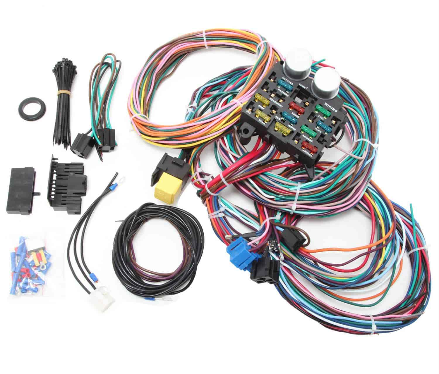 707 r1002x rpc r1002x universal 12 circuit wire harness kit jegs jegs universal wiring harness at edmiracle.co