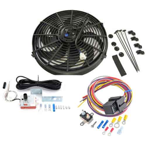 RPC R1016K Electric Fan Kit 16 Curved Blades Includes – Rpc Wiring Harness