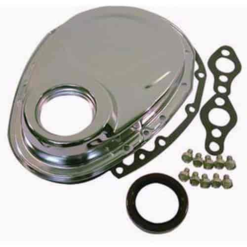 Chevrolet Performance 12562818 Timing Chain Cover: RPC R4934 Steel Timing Chain Cover Small Block Chevy 283