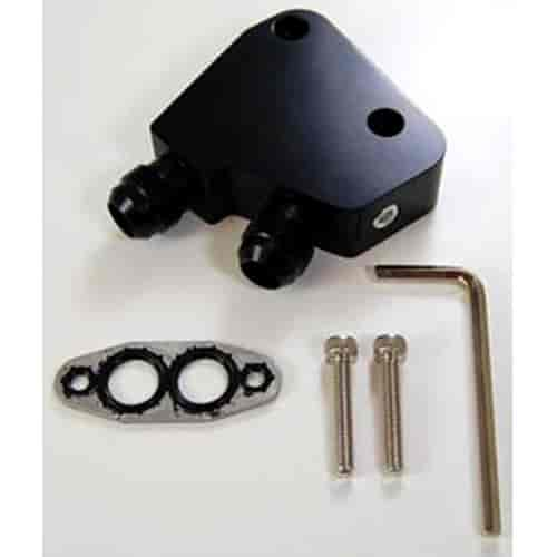 Earls LS0012ERL Engine Oil Cooler Adapter