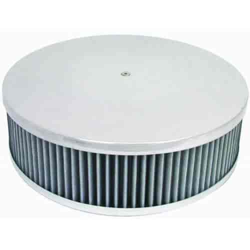 JEGS 500050 Air Cleaner with Smooth Top