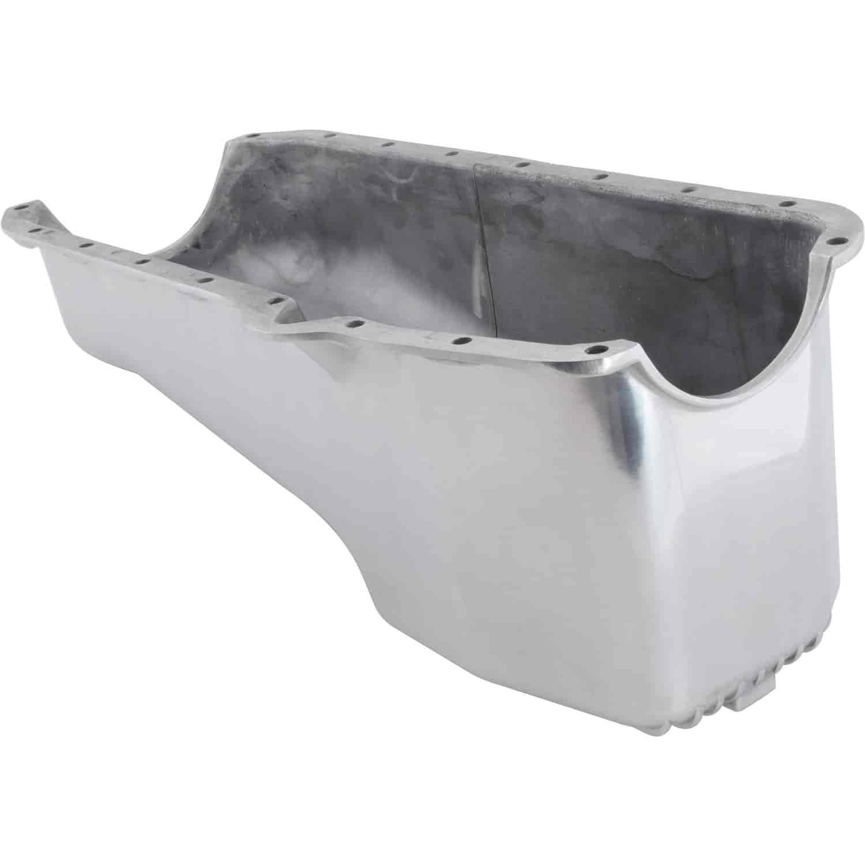 Rpc R8442 Finned Aluminum Stock Oil Pan 1955 79 Sbc V8 283 305 Chevy 350 Gasket