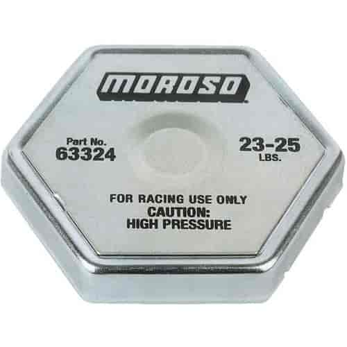 Moroso 63324 - Moroso Racing Radiator Caps & Covers